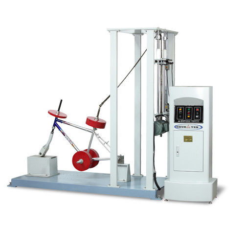 220v IEC Test Equipment / Pneumatic Drop Test Machine For 500mm Electric Bicycle Front Fork Assembly