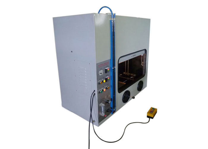 Flammability Testing Equipment Foam Horizontal Burning Tester ISO9772-2001 / UL94