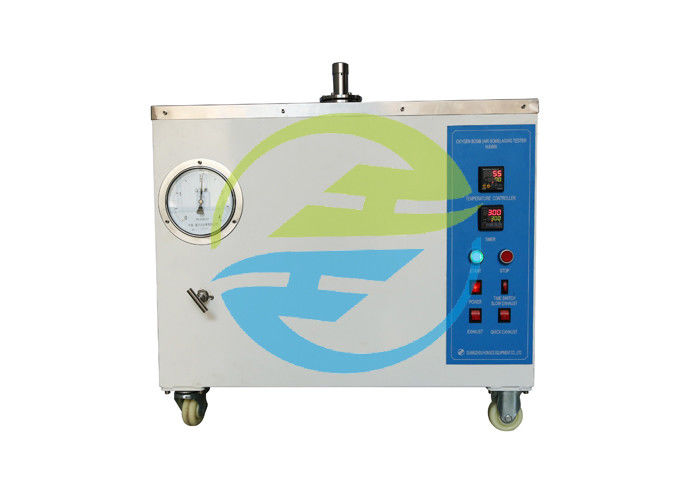 IEC 60811 Cable Testing Equipment Oxygen Bomb / Air Bomb Aging Tester 200℃ 4MP
